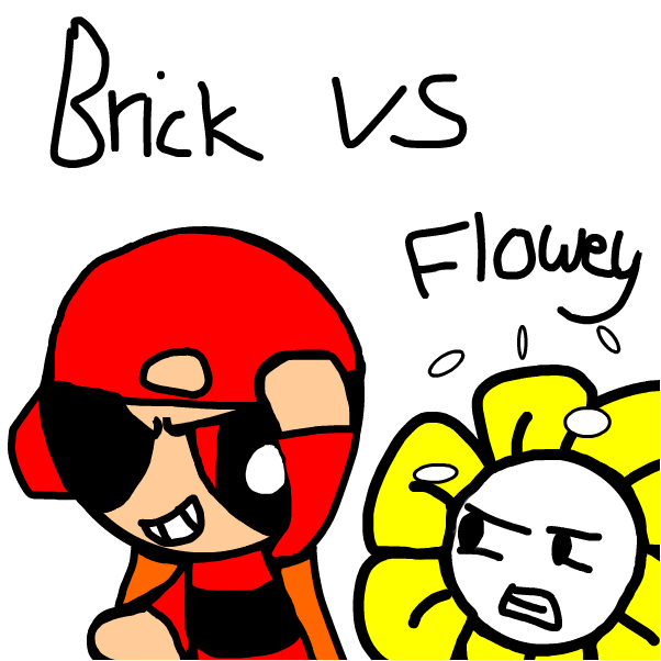 Brick vs Flowey