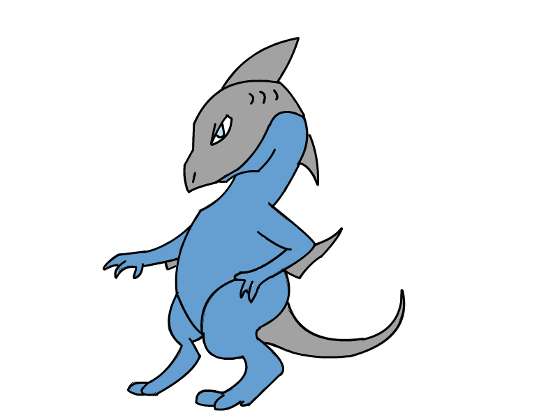 Shark Dragon Adult