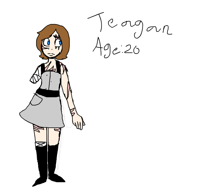 Teagan updated a bit