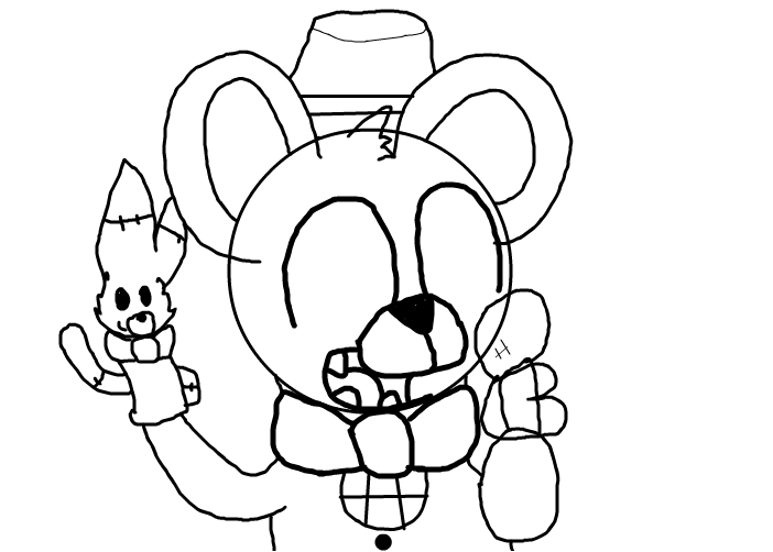 Not finished FunTime Freddy