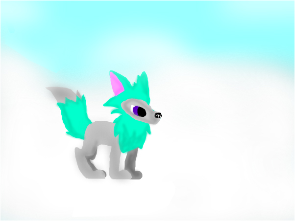RainPie Arctic Wolf Oc Animal Jam