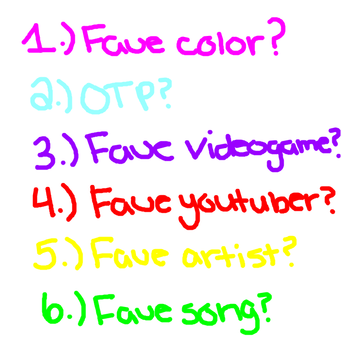 Pick a number and I'l answer!