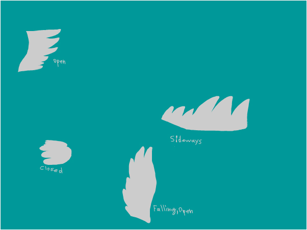 How I Draw Feathered WIngs