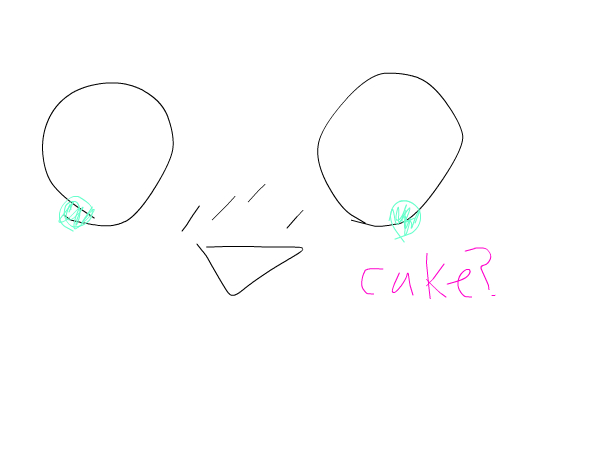 WHO WANTS TO BE SCARED OF CAKE! :'D