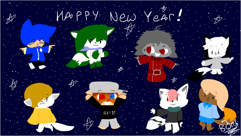 Happy New Year My Bois and Gals!