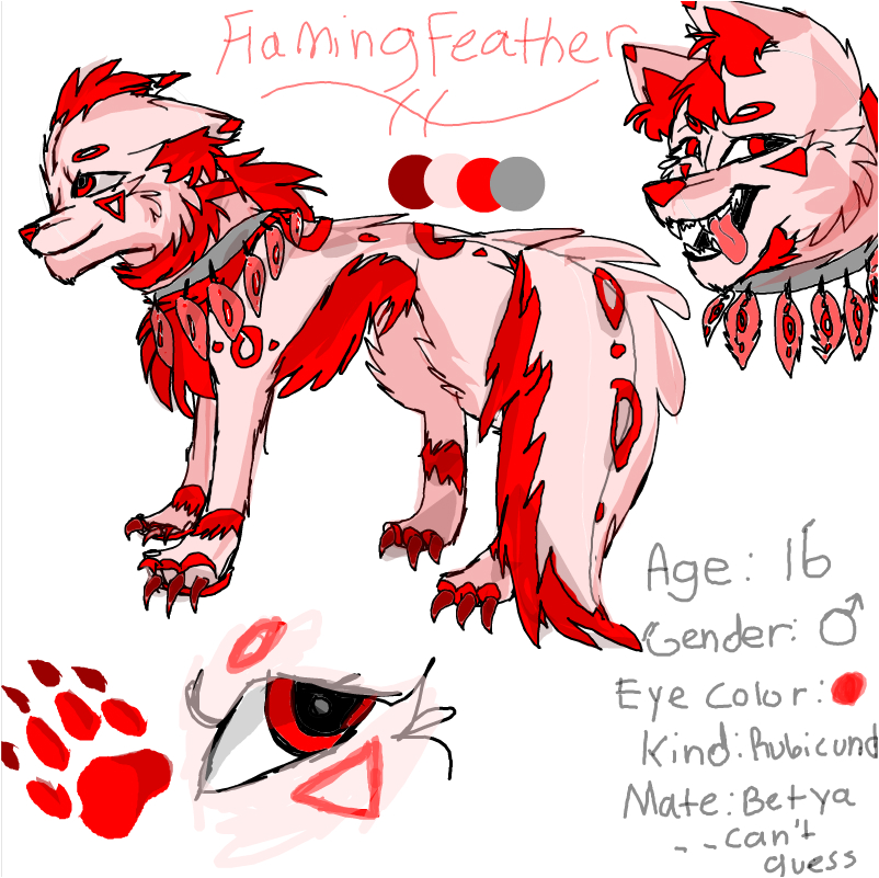 FlamingFeather ref