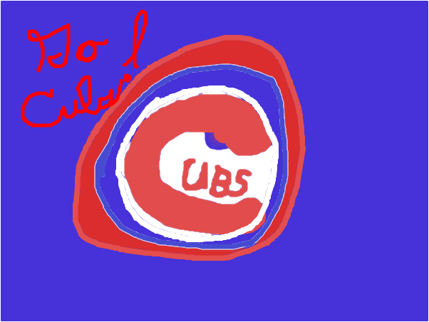 Chicago Cubs Logo Slimber Drawing And Painting Online
