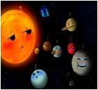 the solar system and its planets.
