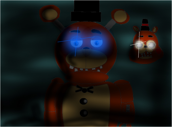 withered freddy and toy freddy - Slimber com: Drawing and