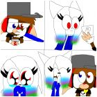 nick and friends kitkat comic