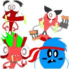 ghouly mixels and survivor loopy