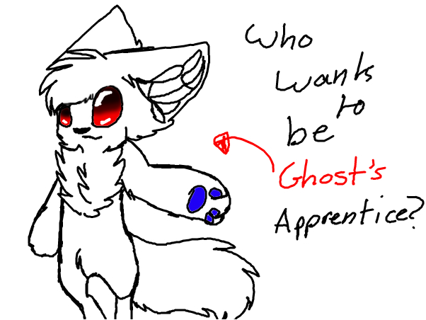 who wants to be ghosts apprentice? - AIM