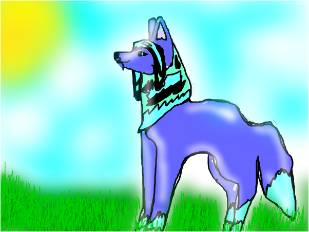 My new forsona?~ Wolf Girl