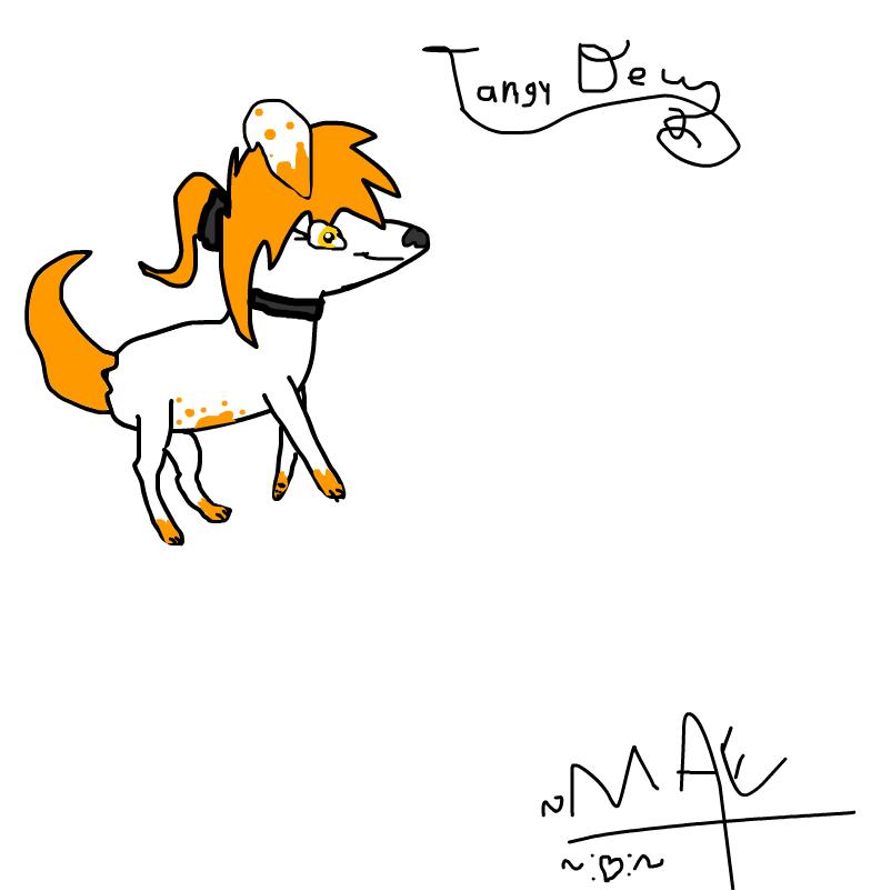 My wolf/dog fursona.