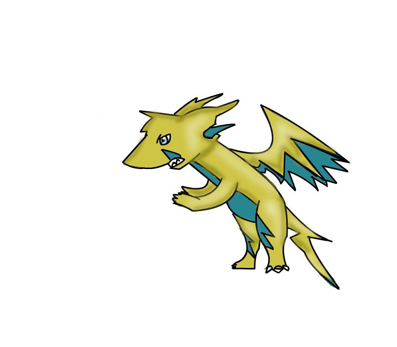 Lightning Dragon Adult form