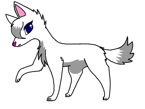 Freya the wolf