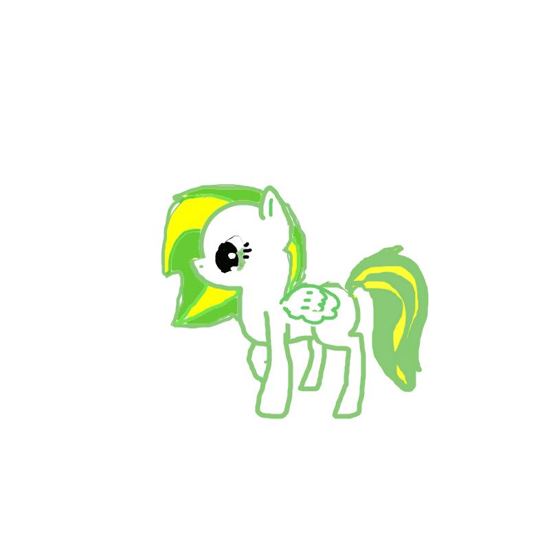 Lemon Lime (Pony Forme)