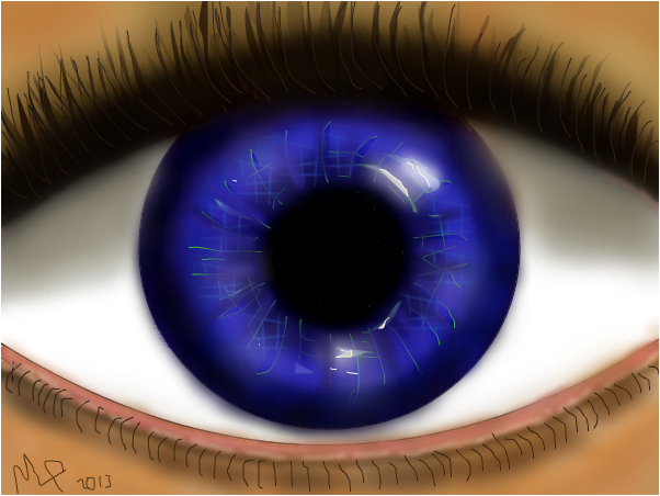 blue eye again