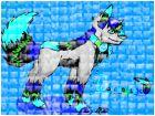 My fursona~wolf