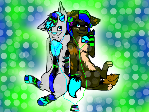 Wolf and star-Request~wolf