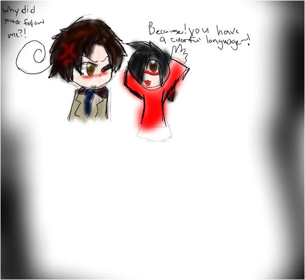 Me and Romano. =u=;;