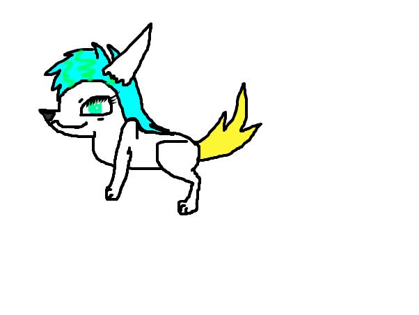 My kitsune fursona for an RP.