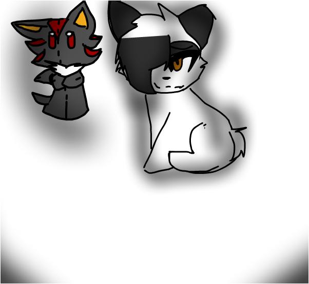 Heey~ Wanna see my shadow plush irl? ;u; ((Read))