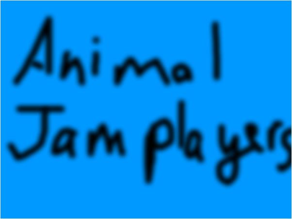 read all animal jam players