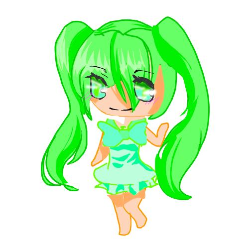 Melon chan (oc)