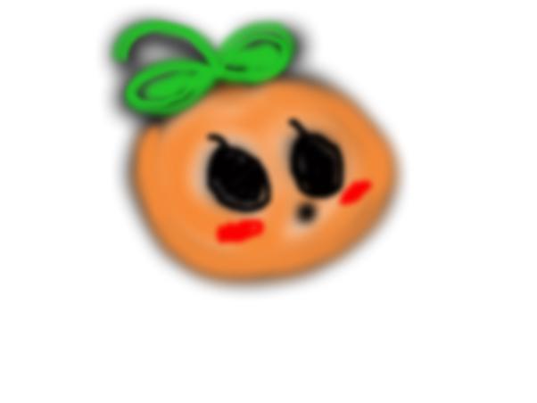 Random orange