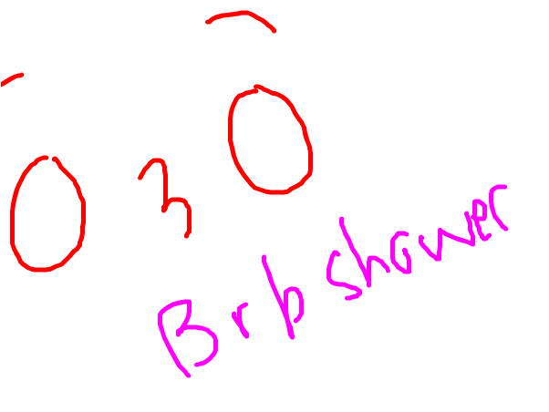 Brb shower~ -Pandie