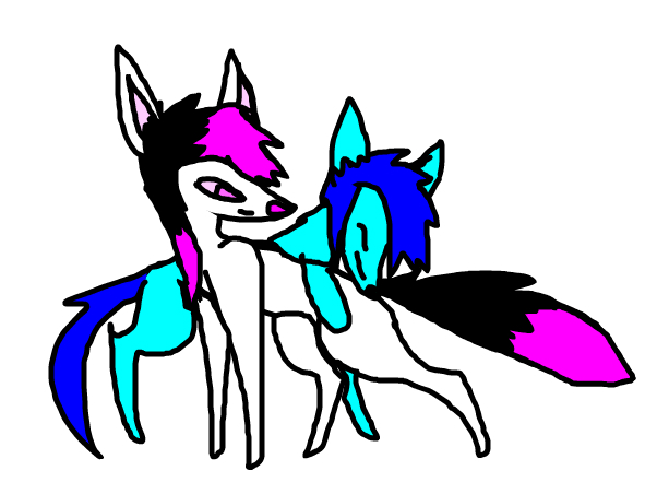 Cuteness(with frostninja and i gtg XC~ WG