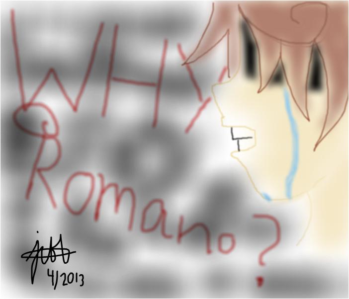 Hetalia: Romano (Crying)
