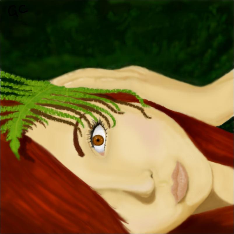 Leafy Portrait Edited