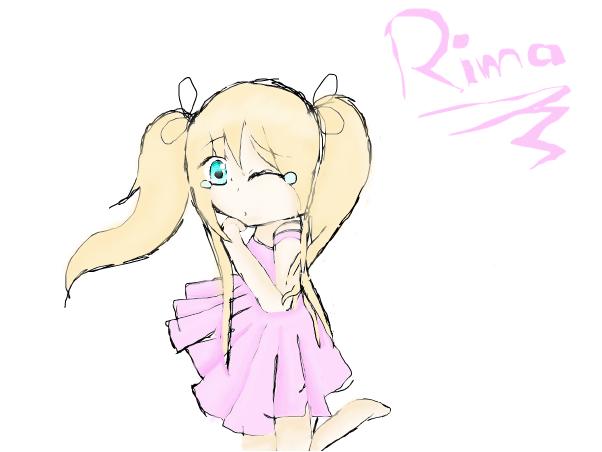 drawing my character Rima~Dangolover