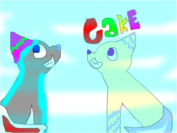 Wolfie electria and cake carmen