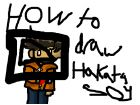 how to draw hakata soy