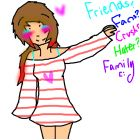Friends,fans,family,haters,crushes? -Pandie