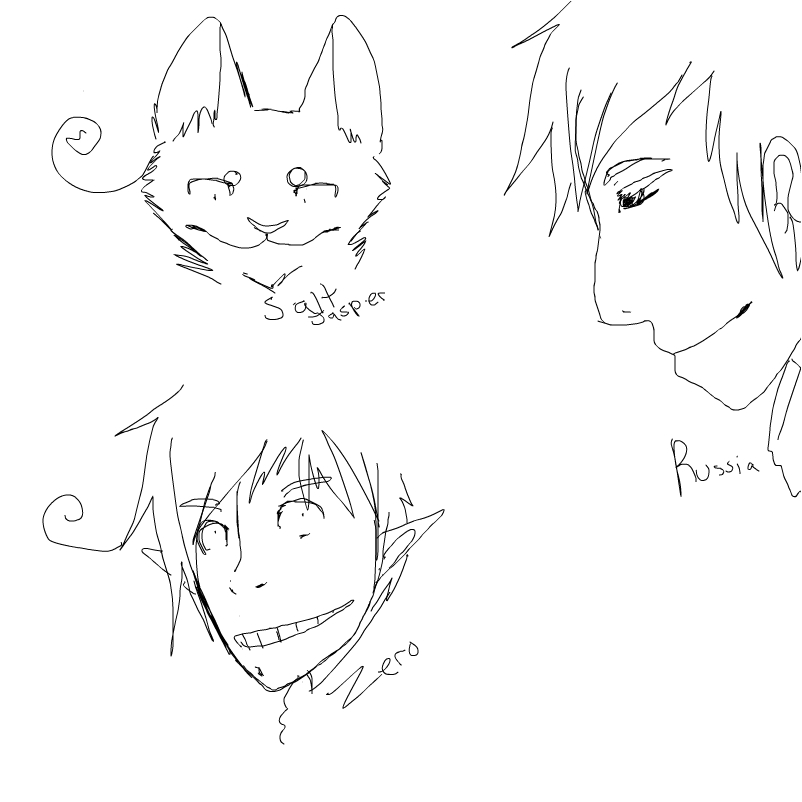 I did some 1:43 AM scetches
