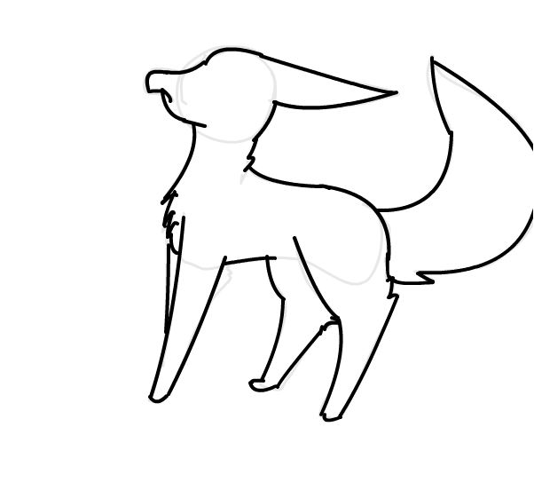 Random Fox Outline.~