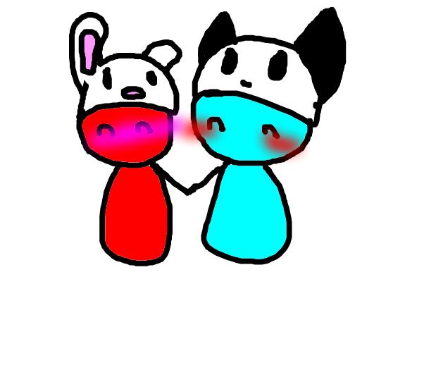 Bunnies and Pandas~.