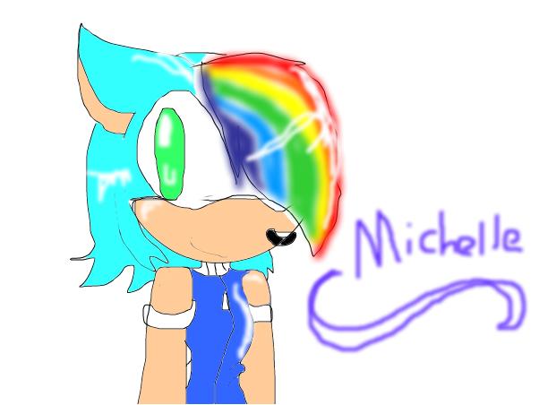 Michelle the hedgehog in boy version :3
