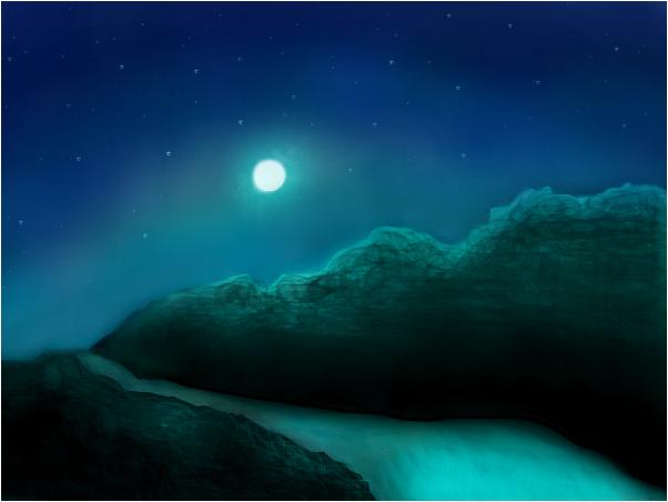 The night path