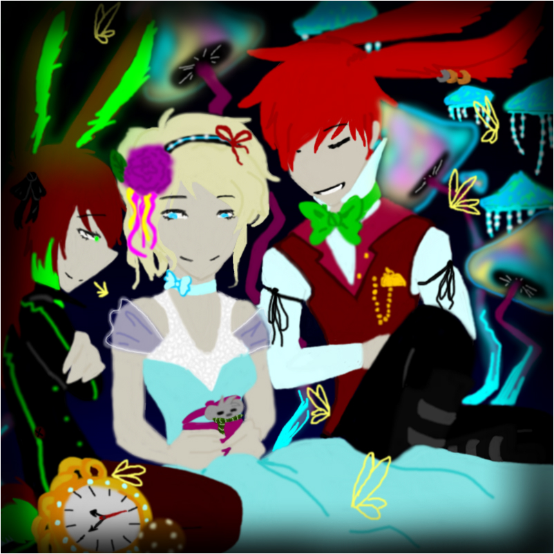 Alice And The Wonderland =D