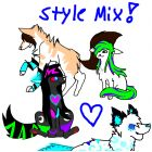 Style mix!!! ~ Maya, Pandie, Alexa, and Pi