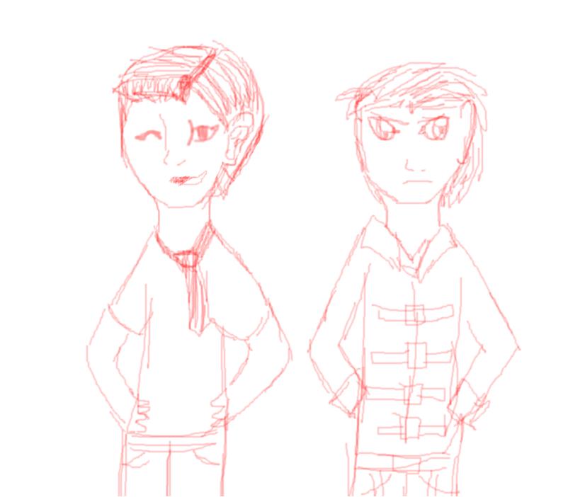 Deryn and Alek
