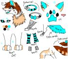 BlueHeart ref sheet!