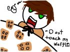 Spain's Waffles XD(the drawing is terrible)