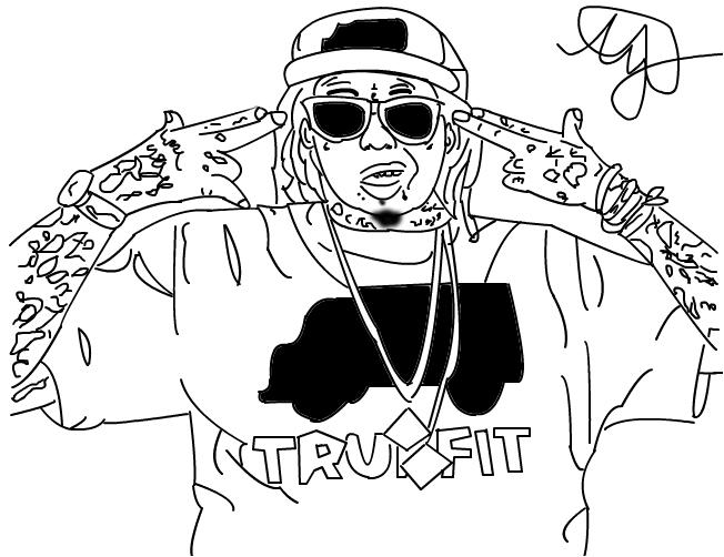 Lil Wayne in trukfit