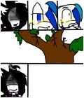 comic, the tree